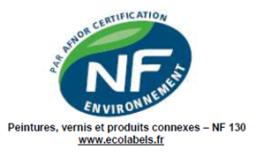 Nation peinture Paris utilise des peintures NF Environnement
